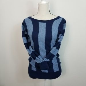 Juicy Couture Wool Cashmere Sweater Tunic Stripe